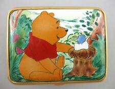 Pooh and Friends Enamel Box - Welcome Little One - A4488 - Disney / Enesco 2004