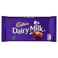 Cadbury dairy milk 200g bar British / UK recipe chocolate