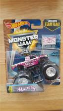 New Look 2017 Hot Wheels Monster Jam MADUSA with Team Flag Farewell Tour