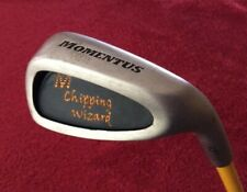 """R/H🔺MOMENTUS Chipping Wizard / Swing Trainer 35"""" + Ping T& Titleist ball H13"""