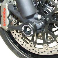 R/&G Rear Spindle Sliders Ducati Diavel 2013 SS0034BK Black