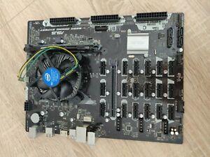 Asus B250 Mining Expert    Intel G3930 CPU   4GB RAM