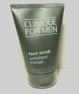 Clinique For Men Face Scrub Exfoliant Visage - 3.4 oz -