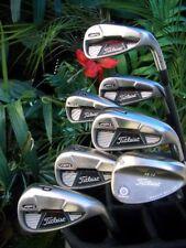 "TITLEIST Golf AP1 710 Iron Club Set Aldila Senior Graphite Vokey Wedge +3/4"""