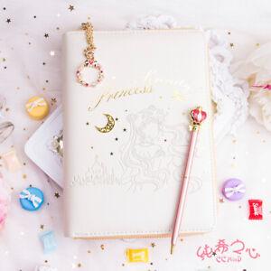 Sailor Moon Tsukino Usagi Binder Loose-leaf Planner Journal A6 Diary Notebooks