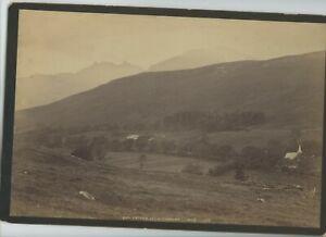 Vintage 8 x 12 Armoire Photo Ben Arthur (The Cobbler) Loch de Long Écosse