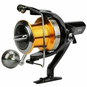 HS7000/8000/11000 Saltwater Spinning Fishing Reel 15+1 Ball Bearings Metal Reel
