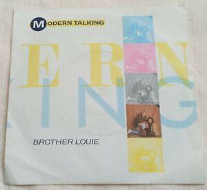 "Modern Talking - Brother Louie - 7"" Vinyl Single - 1986"
