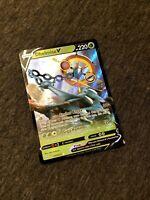 Pokemon Dhelmise V 009/072 Shining Fates Ultra Rare Mint