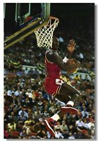 Michael Jordan Dunks Basketball Sports Art Silk Poster 13x20 20x30 24x36 inch 19
