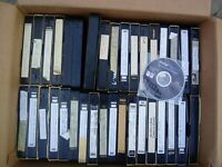 Lot Of 75 Pre-Recorded VHS Tapes Sold As Used Blanks