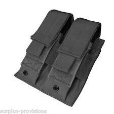 Condor MA23 Double Pistol Mag Pouch Black Tactical magazine clip Molle