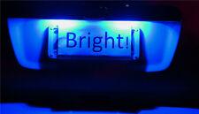 Holden VT VX VY VZ  VE  Commodore Blue LED Number Plate