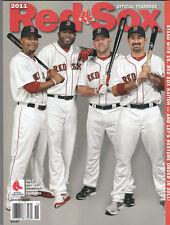 NEW 2011 Boston Red Sox Official Yearbook David Big Papi Ortiz Kevin Youkilis