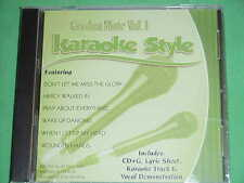 Gordon Mote #1 Christian Daywind Karaoke Style~~Don't Let Me Miss the Glory CD+G