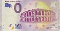 BILLET 0  EURO  ARENA DI VERONA ITALIE  2017  NUMERO 100