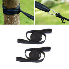 2pcs 200cm Adjustable Hammock Rope Tree Strap Hanging Outdoor Camping Tool mnb