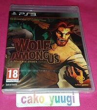 THE WOLF AMONG US SONY PS3 NEUF VERSION FRANCAISE