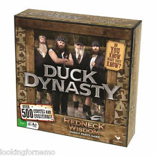 Duck Dynasty Redneck Wisdom Family Party Game NIB