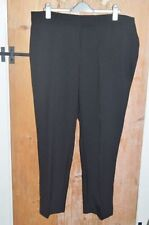 George Straight Leg Mid Rise Plus Size Trousers for Women