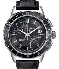 Timex T2N495 Mens Intelligent Quartz SL Series Fly-Back Chronograph Black