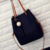 Women Bucket Shoulder Bag Tote with Small Zipper Handbag Soft PU Leather Fashion