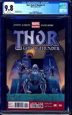 Thor God of Thunder #4 CGC 9.8 GORR LOVE AND THUNDER MOVIE NM/MT Jason Aaron