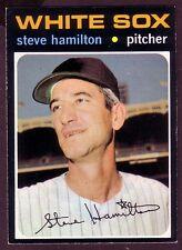 1971 TOPPS STEVE HAMILTON  CARD NO:627
