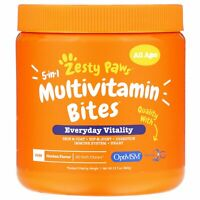5-In-1 Multivitamin Bites for Dogs, Everyday Vitality, All Ages, Chicken Flavor,