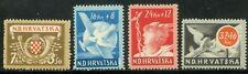 Croatia-1944. Postal communication. Full set. MNH