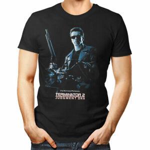 TERMINATOR 2 unisex T Shirt movie Judgment Day Arnold woman man gift