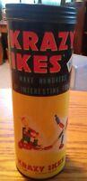 000 Vintage Krazy Ikes No.4731 Plastic USA Made Whitman Publishing Toys in Tube