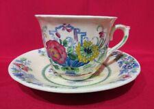Mason's Patent Ironstone China~Strathmore Pattern~Cup & Saucer