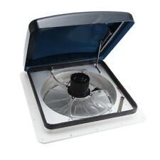 12V 14'' RV Fan Roof Vent 2-way Ventilation 3-Speed Automatic Cover Rain Sensor