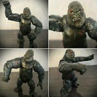 "King Kong Battle Damage 6"" Action Figure Universal Studios 2005 Playmates Rare"