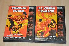 lot 2 DVD Kung Fu Boxer + la vipère du karaté - VF