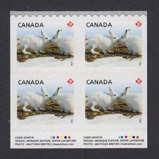 RARE/SCARCE = INSCRIPTION Block 4 VERTICALLY UNCUT fr sheet of 100 Canada #2426v