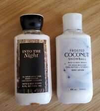 Bath And Body Works Lotion 8 Oz lot of 2