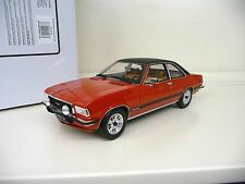1:18 Otto Opel Commodore B GS/E 1977 rot red / black Otto Mobile Models NEU NEW