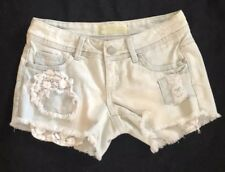 Almost Famous Premium Distressed Jean Shorts Size 0