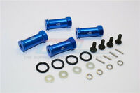 TRAXXAS Mini E-Revo-ALLOY HEX ADAPTOR(+25MM)- 4PCS SET-BLUE