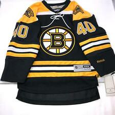 New With Tag NHL Reebok Boston Bruins Stitched #40 Rask Kids Youth Jersey S/M
