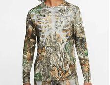 NWT Nike Running Long Sleeve Shirt Reflective Skeleton Realtree Edge Men's Large