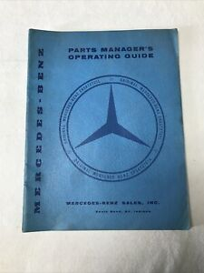 Mercedes-Benz 1957 Parts Manager's Operating Guide