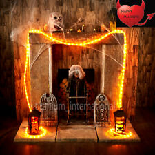 Halloween Orange 4.5m Rope Light Haunted House Party in/outdoor Decor