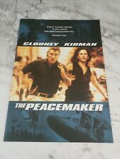 Film/Movie Premiere Brochure From London's Leicester Square - The Peacemaker