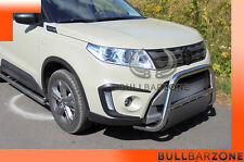 SUZUKI VITARA II 2015+ TUBO PROTEZIONE MEDIUM BULL BAR INOX STAINLESS STEEL