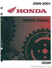 Official 2000-2001 Honda CR250R Motorcycle Service Manual : 61KZ361