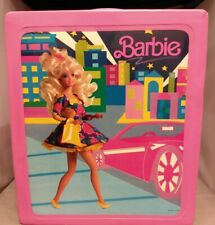 Barbie Doll Trunk 1989 vintage Mattel, Tara Toy Corp, good condition
