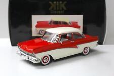 1:18 KK-Scale Ford Taunus 17M P2 1957 red/ white